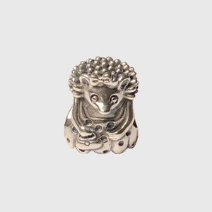 Pandora Ms Hedgehog Sterling Silver Charm Retired